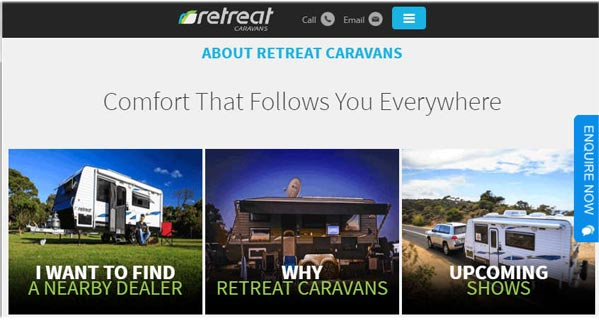 RetreatCaravans.com.au
