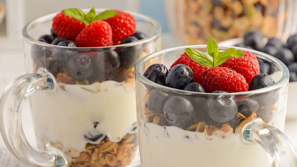Dressed-up Yogurt