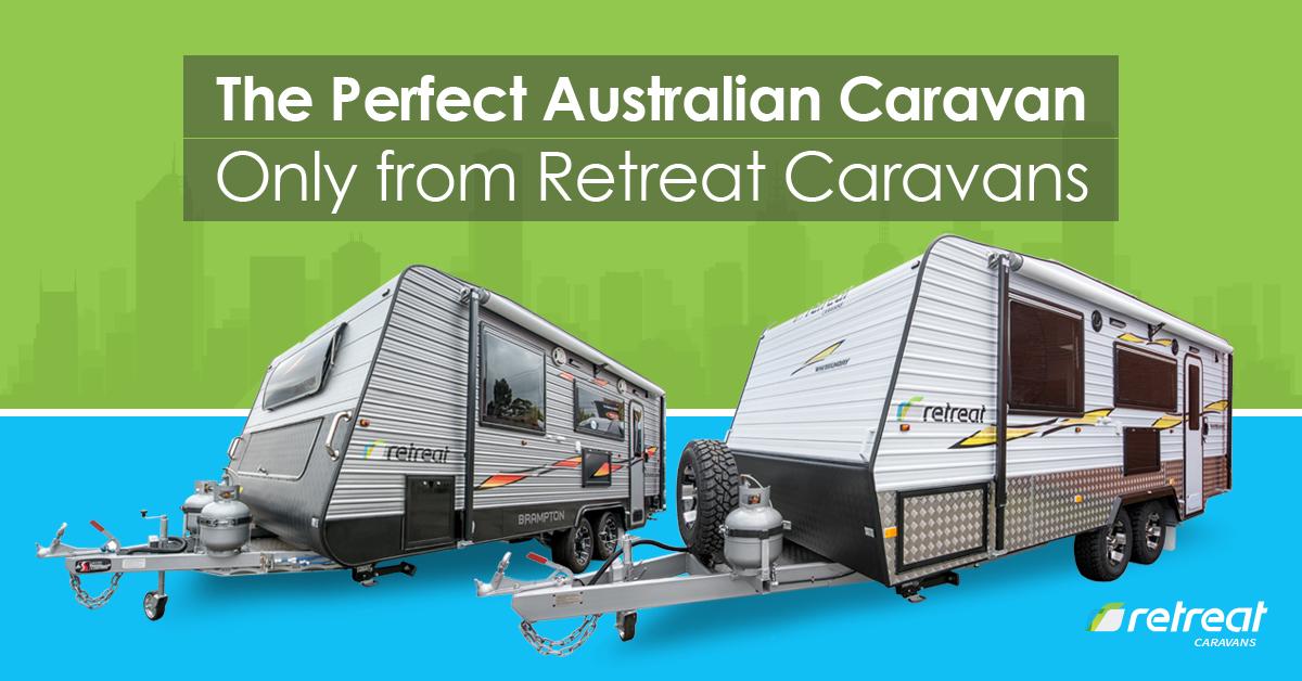 perfect Australian caravan