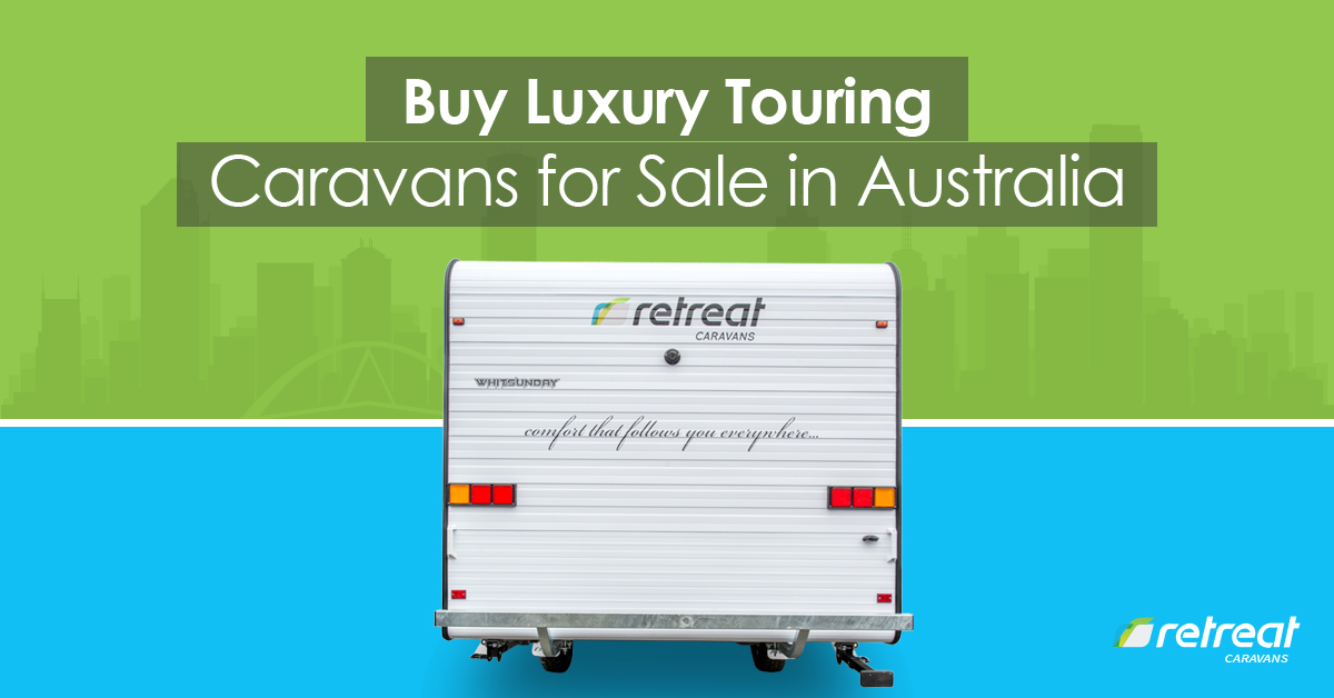 luxury touring caravans for sale in Australia