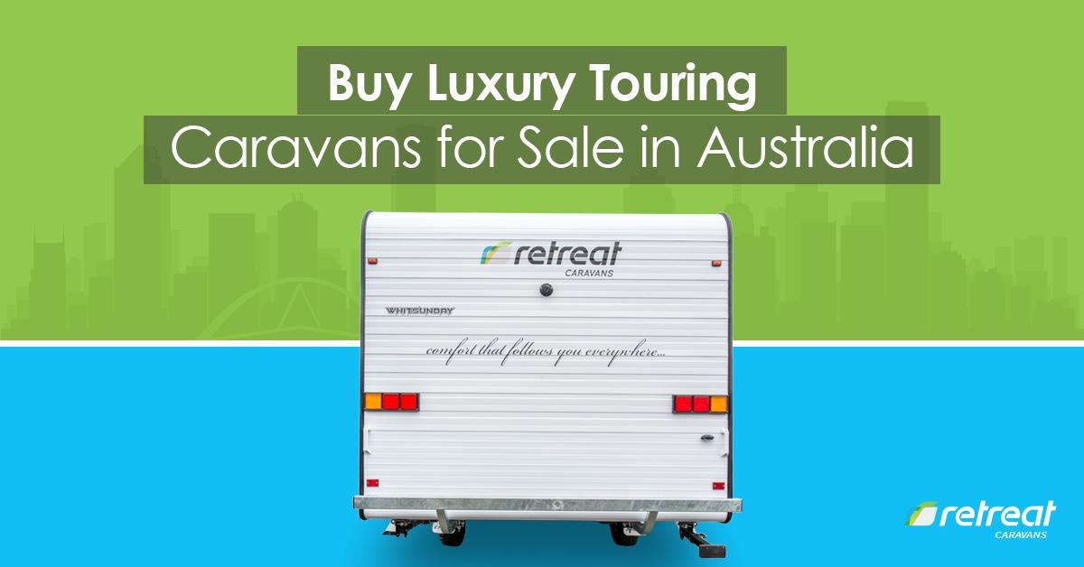luxury touring caravans for sale in Australia