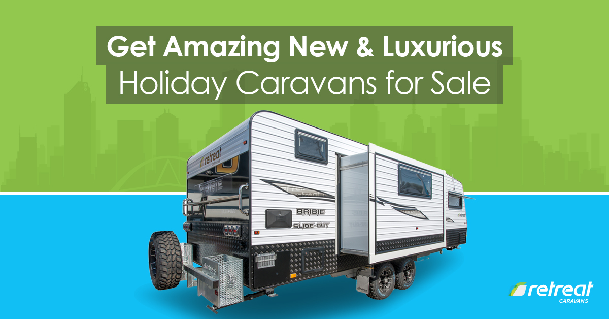 new and luxurious holiday caravans