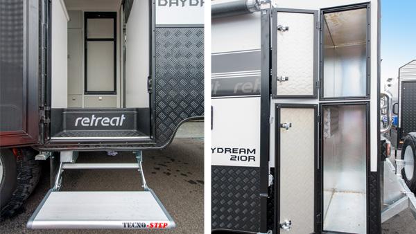 daydream caravan exterior
