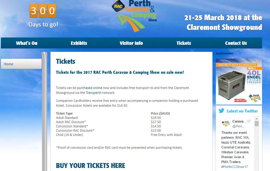 purchase-caravan-shows-ticket-online