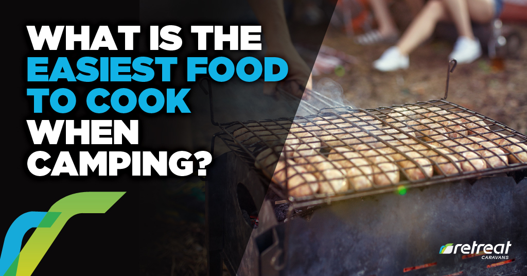 What is the easiest food to cook when camping